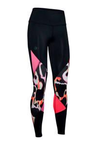 Under Armour sportbroek zwart/roze, Zwart/roze