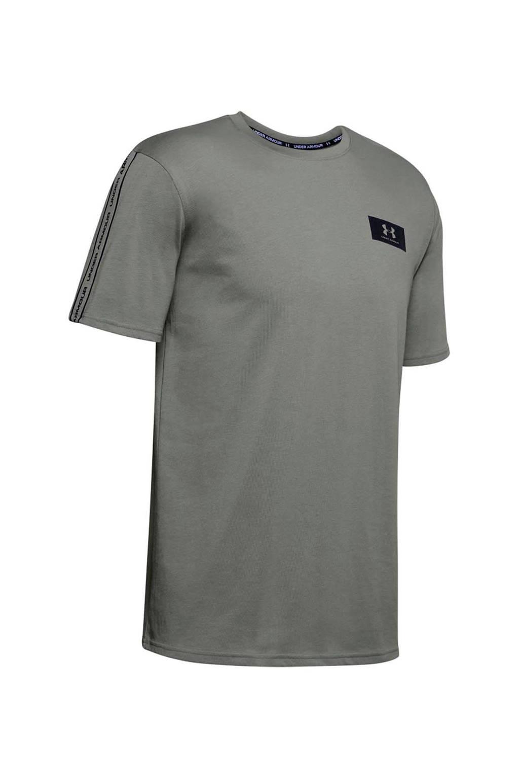 Under Armour   sport T-shirt olijfgroen, Olijfgroen