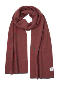 Michaelis sjaal grijs, Grijs/rood