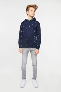 WE Fashion Blue Ridge skinny jeans lichtgrijs, Lichtgrijs