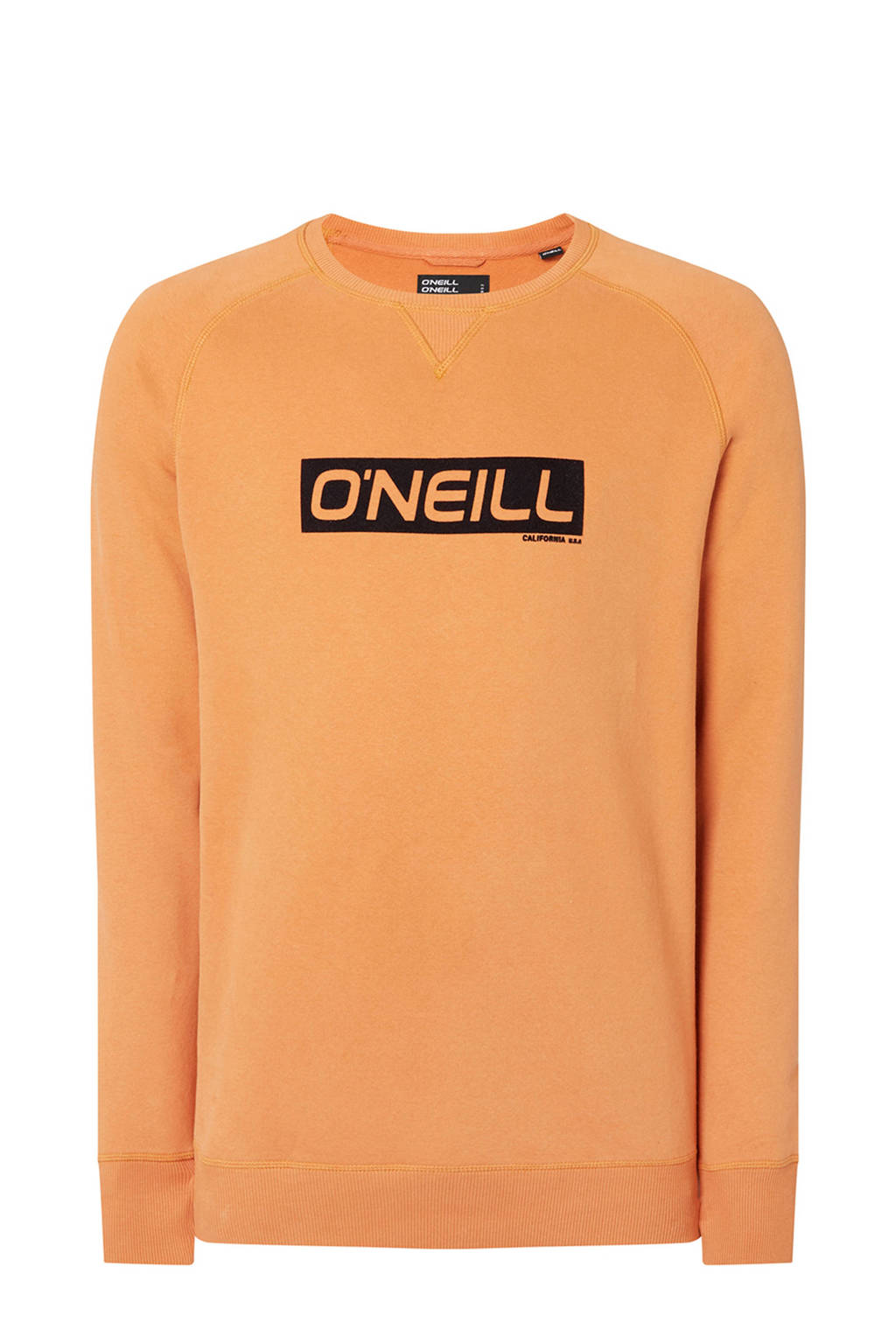O'Neill sweater met logo golden yellow, Golden Yellow