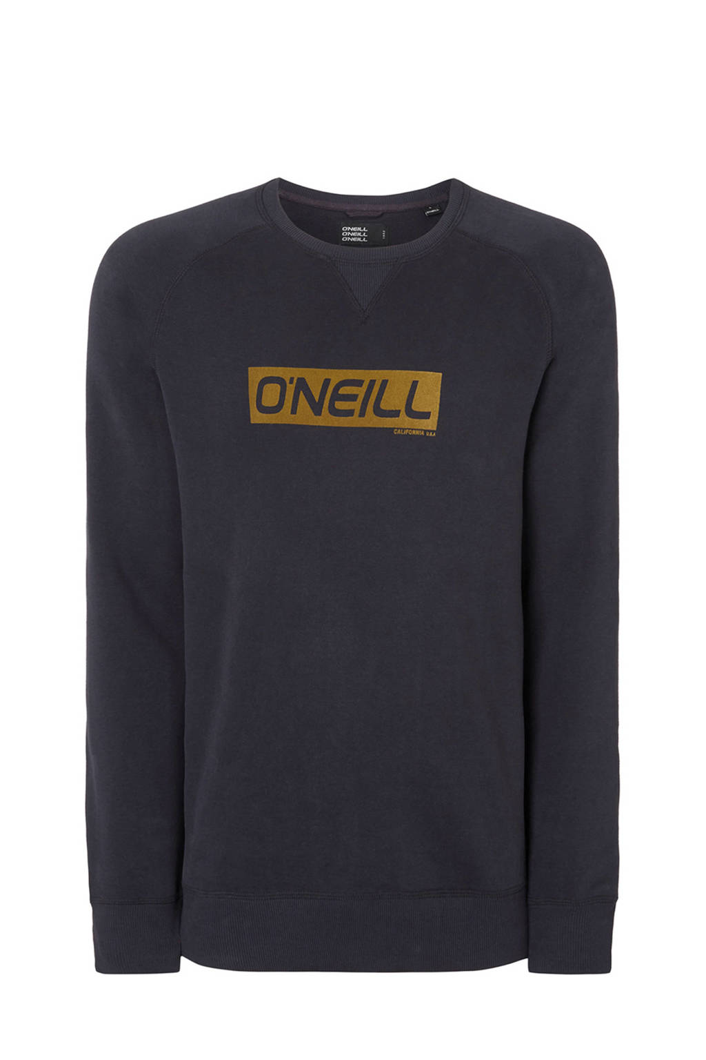 O'Neill sweater met logo royal blue melange, Royal Blue Melange