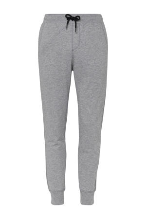 regular fit joggingbroek light grey