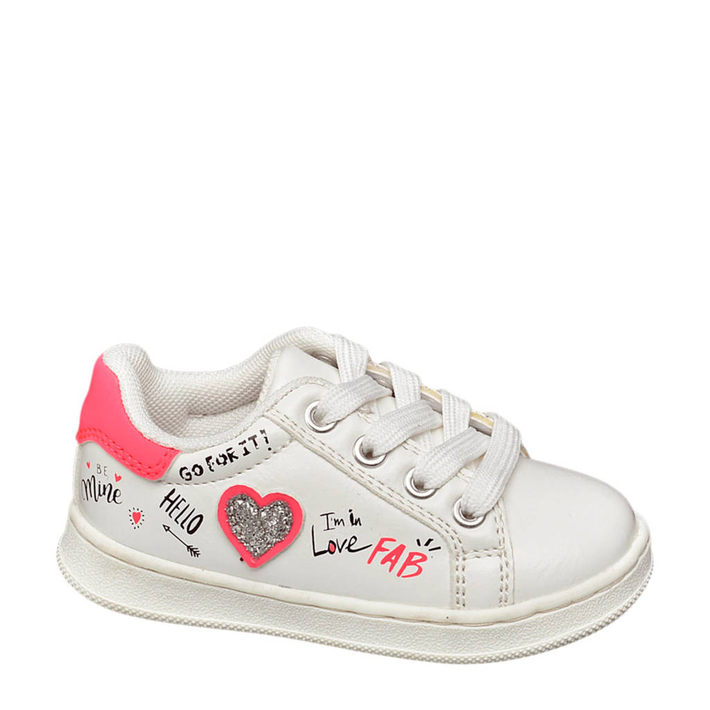 Cupcake Couture   sneakers wit/roze, Wit/roze