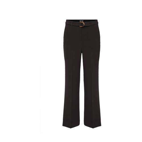 WE Fashion high waist palazzo broek zwart