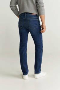Mango Man slim fit jeans Jan changeant blauw