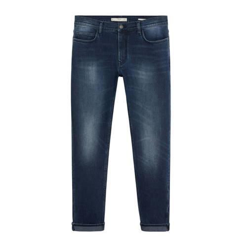 Mango Man slim fit jeans Jan diep donkerblauw