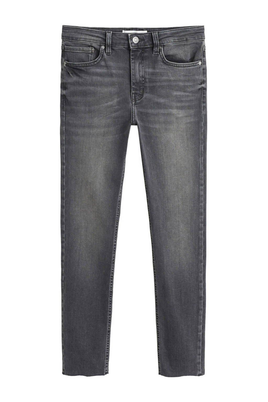 Mango skinny jeans grijs, Grijs