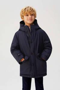 Mango Kids winterjas donkerblauw, Donkerblauw