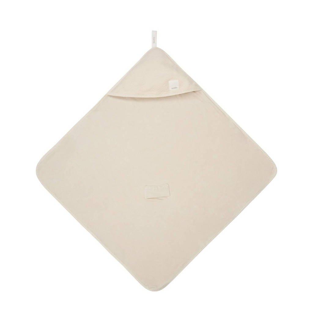Koeka Runa badcape Warm White, warm white