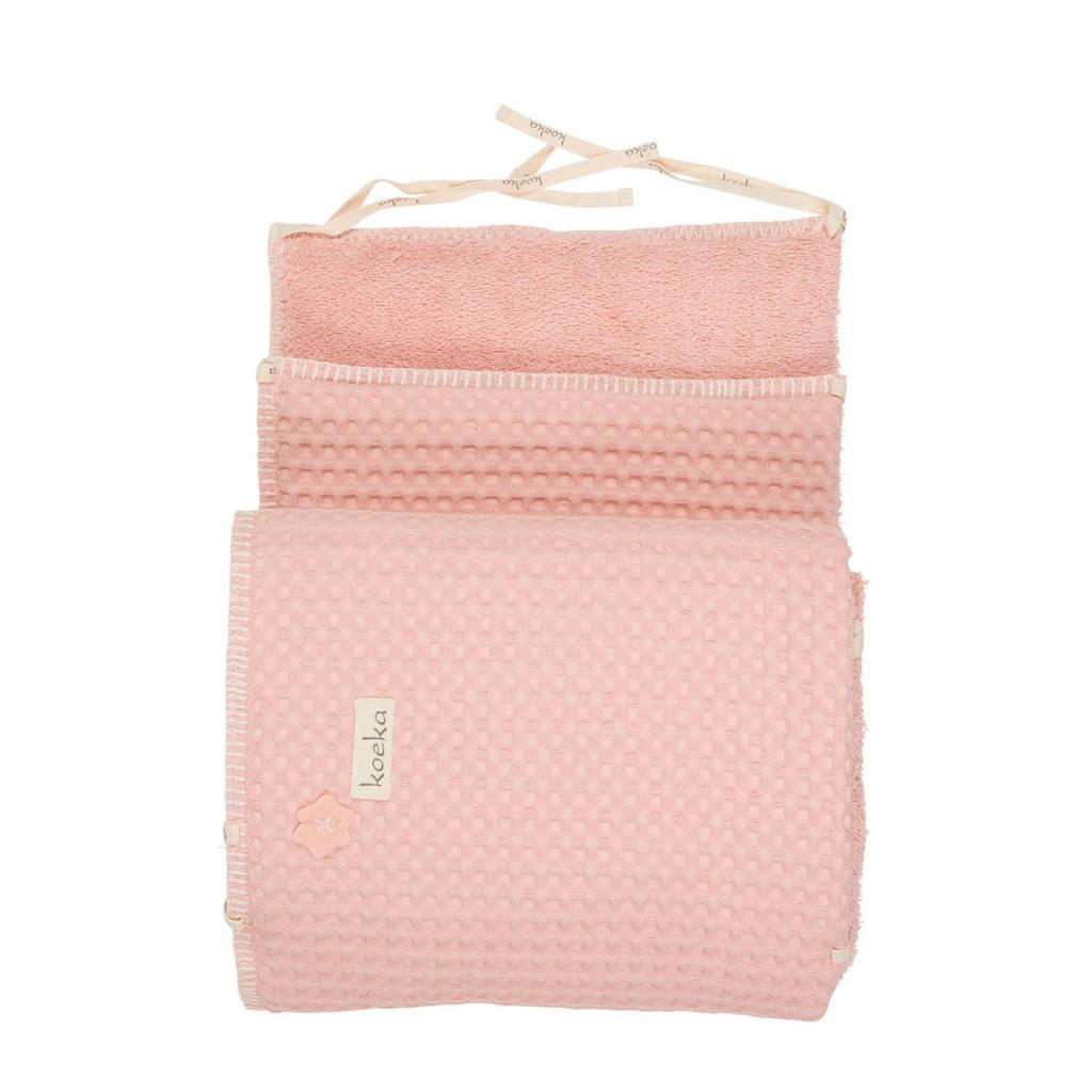 Koeka Amsterdam boxbumper shadow pink