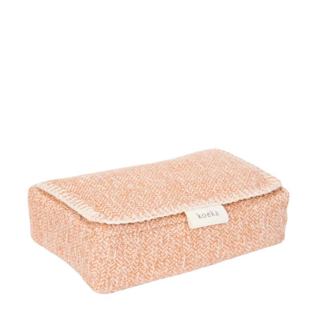 Koeka Vigo babydoekjesbox Caramel