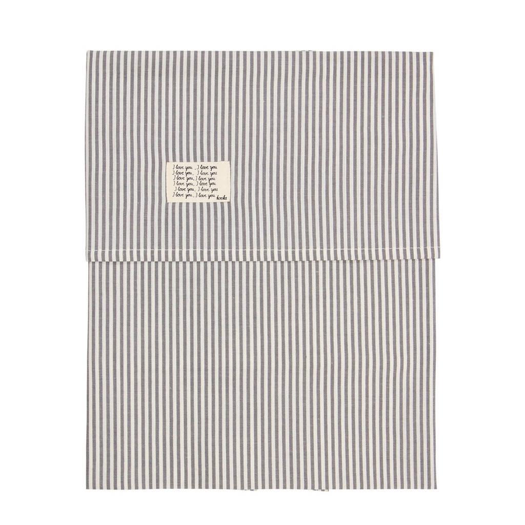Koeka Vienne baby wieglaken Sparkle Grey 80x100 cm, Sparkle grey