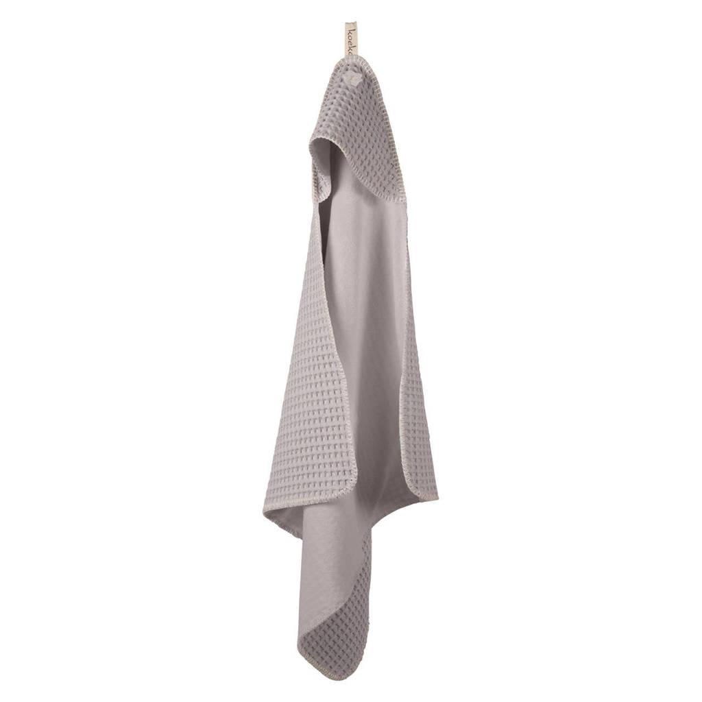 Koeka Antwerp badcape 105x100 cm Silver grey, Silver Grey