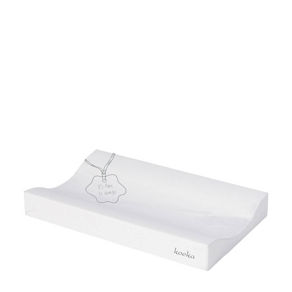 Koeka aankleedkussen white, White