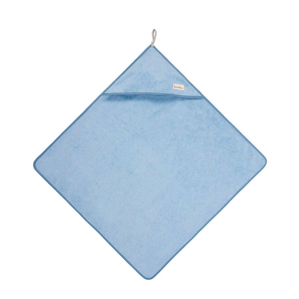 Koeka Dijon badcape Soft Blue, soft blue