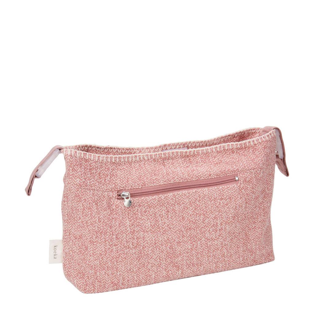 Koeka Vigo mini purse voor de kinderwagen roze, Old Pink