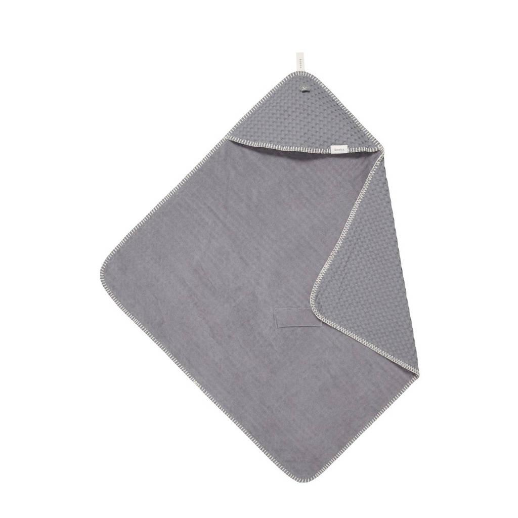 Koeka Antwerp badcape 105x100 cm Steel grey