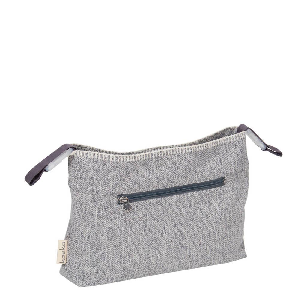 Koeka Vigo mini purse voor de kinderwagen Sparkle Grey, Sparkle grey