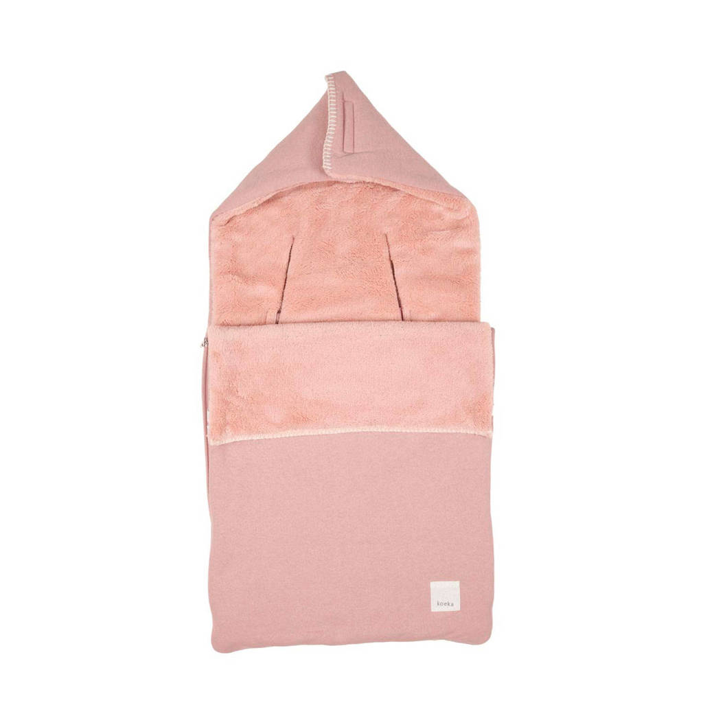 Koeka Runa voetenzak Old Pink