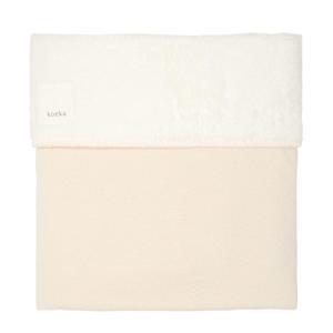 Runa teddy baby ledikantdeken Warm White 100x150 cm