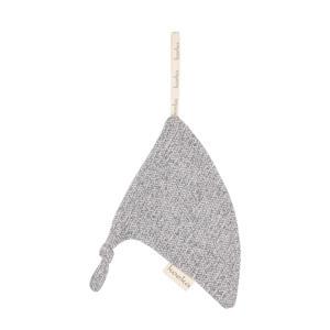 Vigo speendoekje triangel Sparkle Grey