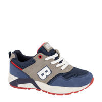 Victory   sneakers blauw/grijs, Blauw/grijs
