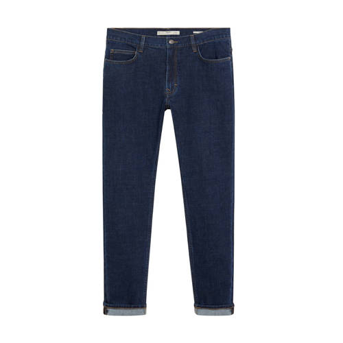 Mango Man slim fit jeans changeant blauw