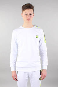 GABBIANO sweater wit/groen/zwart, Wit/groen/zwart