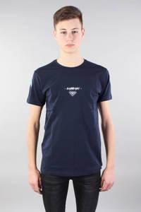 GABBIANO T-shirt met printopdruk donkerblauw/wit, Donkerblauw/wit