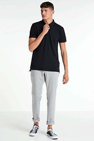 slim fit pantalon grijs