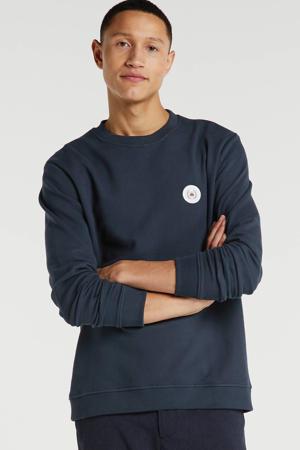 sweater met logo marine