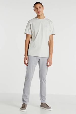 T-shirt met logo beige