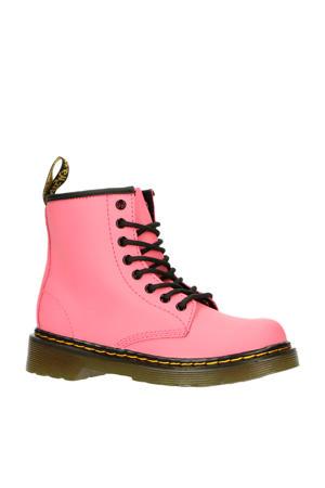 1460 J Acid Pink Romario leren veterboots roze