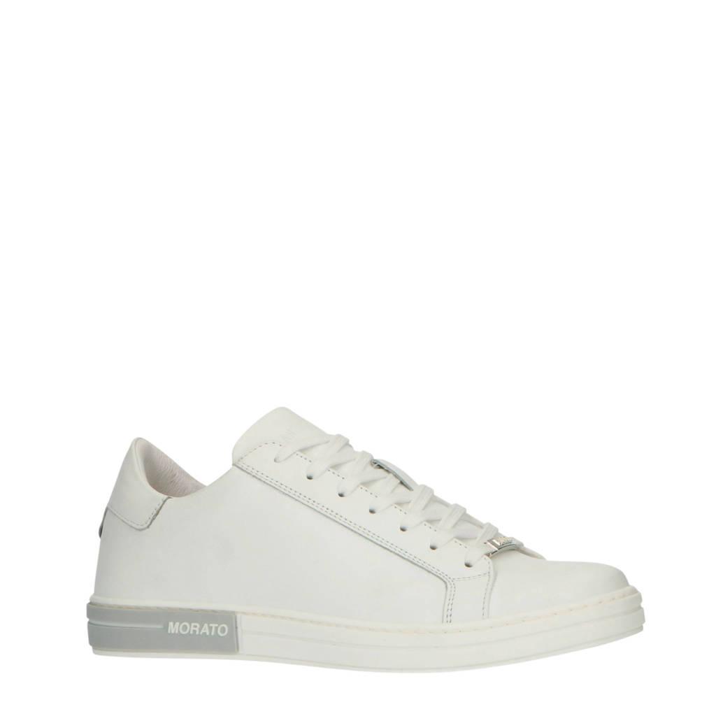Antony Morato   leren sneakers wit, Wit