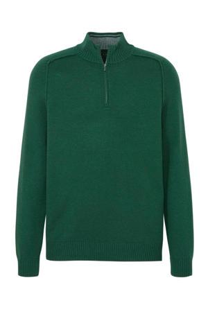 trui met wol groen