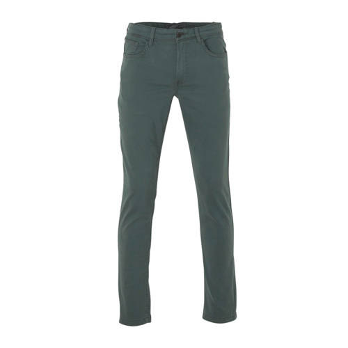 C&A Angelo Litrico slim fit broek groen