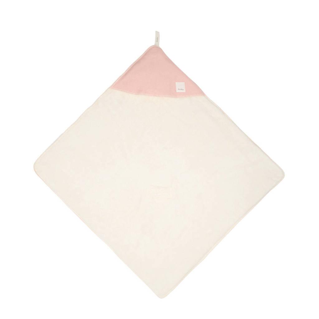 Koeka Vancouver wikkeldeken teddy Shadow Pink /Natural