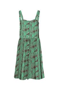 NOISY MAY jurk met all over print groen, Groen
