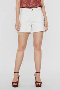 NOISY MAY jeans short wit, Wit