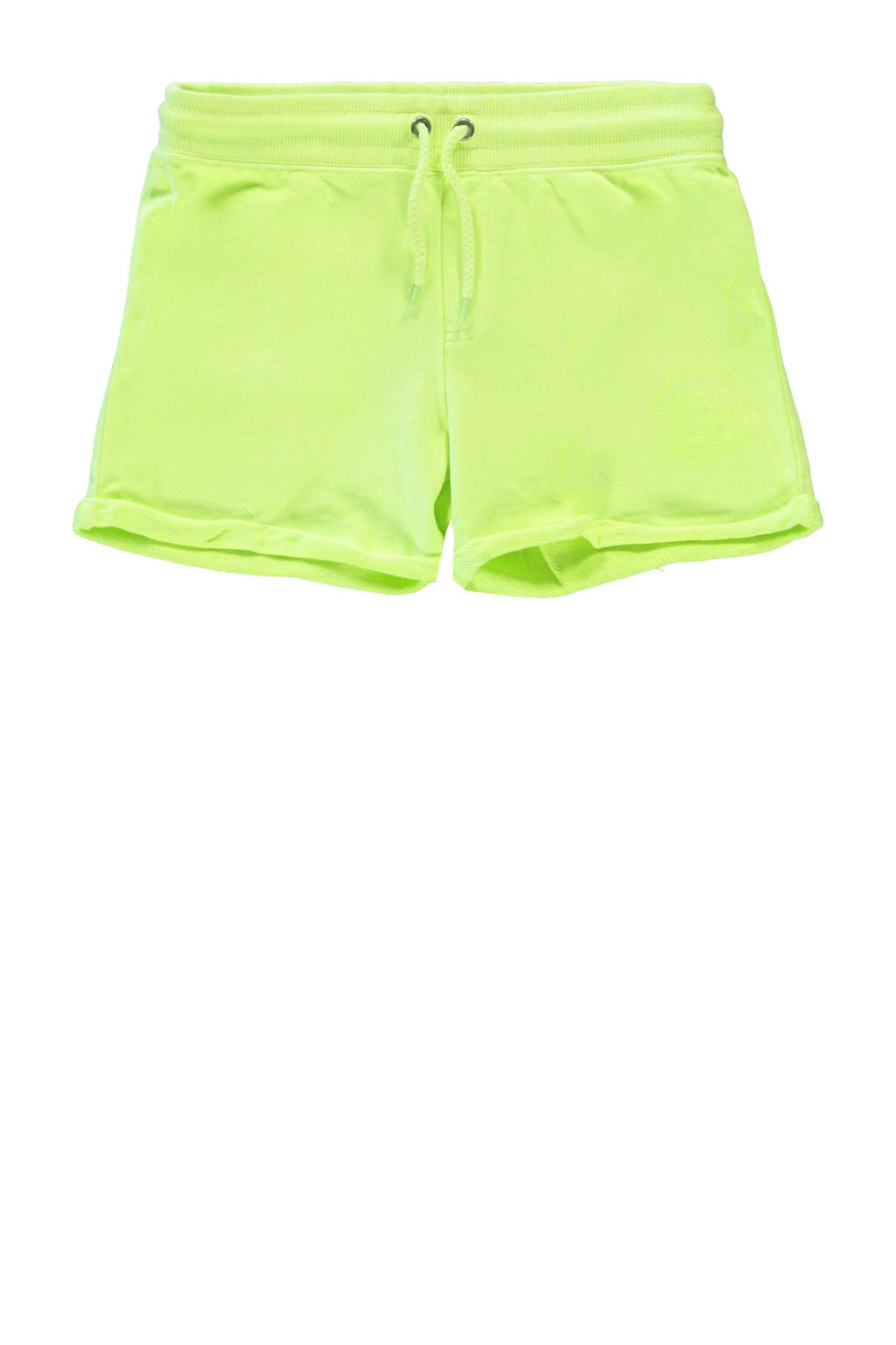 Cars regular fit sweatshort Milty neon geel, Neon geel