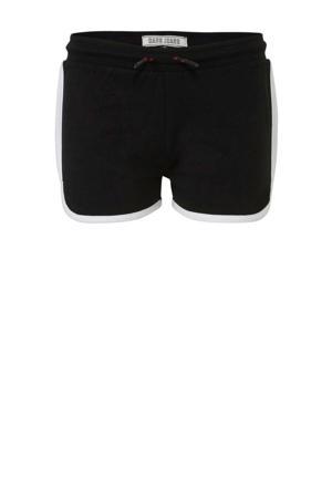 regular fit short Kita zwart/rood/wit