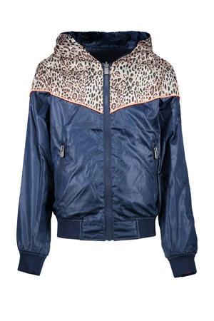 omkeerbare zomerjas Marisol oranje/donkerblauw
