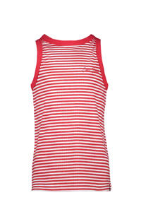 Cars gestreepte top Milana rood/wit, Rood/wit