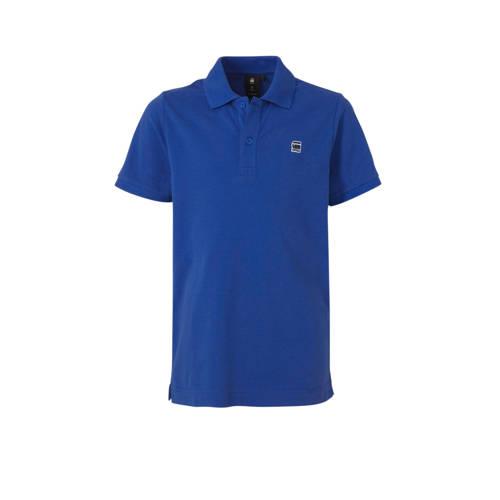 G-Star RAW polo Dunda met logo hardblauw