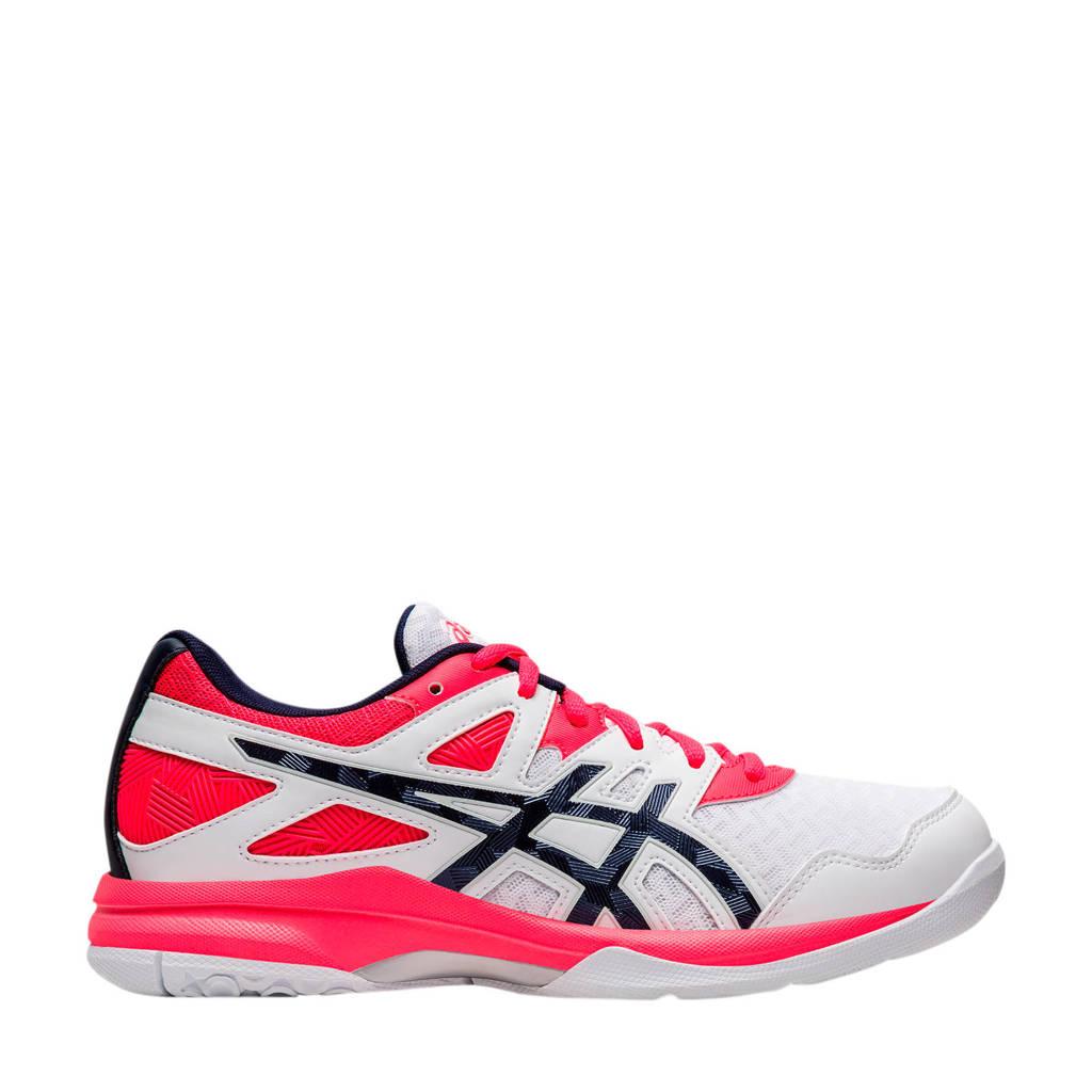 ASICS Gel-Task 2 sportschoenen wit/roze, Wit/roze