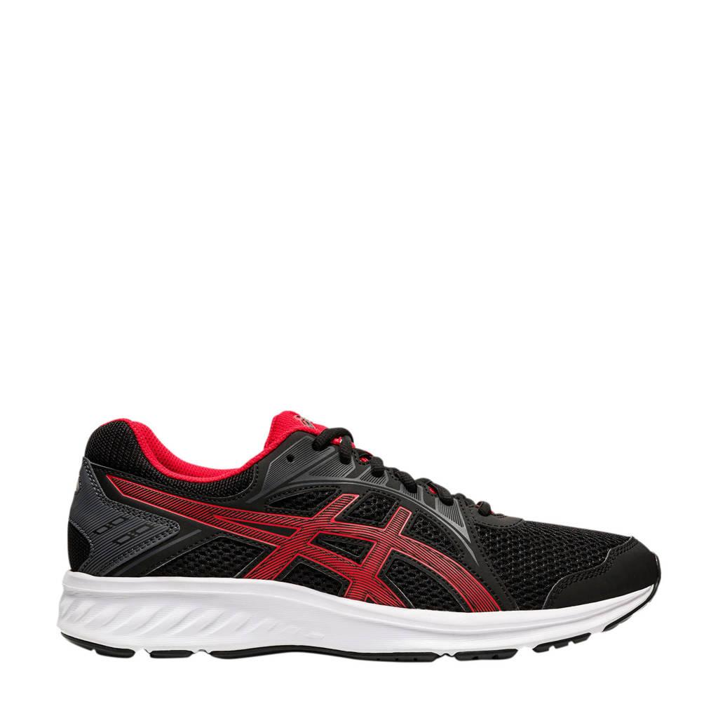 ASICS   hardloopschoenen zwart/rood, Zwart/rood