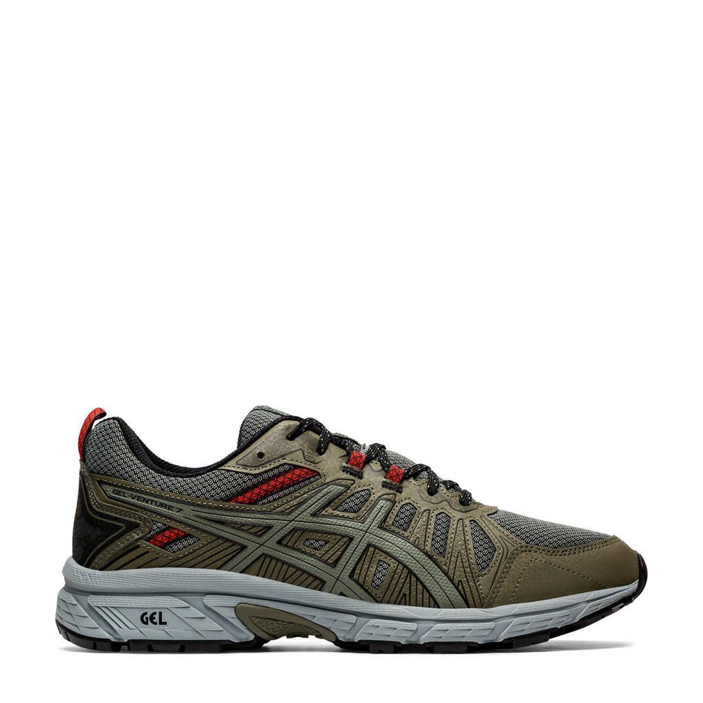ASICS Gel-Venture 7 hardloopschoenen kaki/groen, Kaki/groen