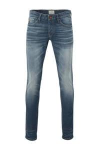 Cast Iron slim fit jeans mid blue wash greencast, Mid Blue Wash Greencast
