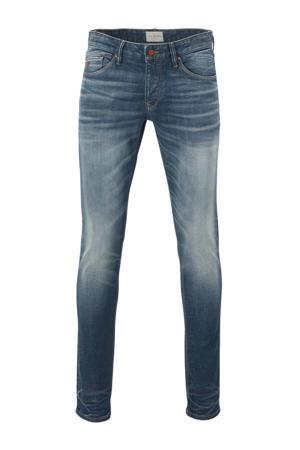 slim fit jeans mid blue wash greencast